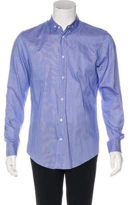 Maison Margiela Striped Woven Shirt