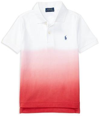 Ralph Lauren Childrenswear Boys' Dip-Dye Polo - Little Kid $35 thestylecure.com