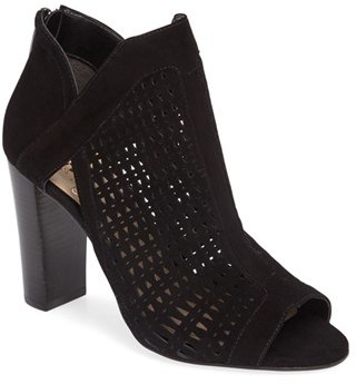 Women's Vince Camuto Cranita Perforated Bootie $149.95 thestylecure.com