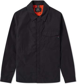 Paul Smith Nylon Zip Shirt Jacket