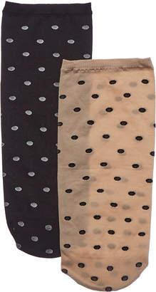 Emilio Cavallini 2Pk Dots Socks