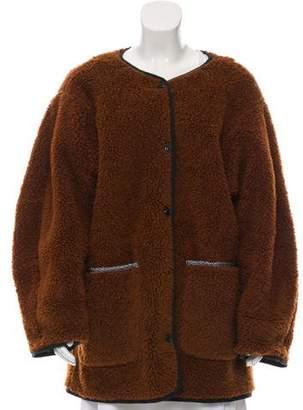 Creatures of Comfort 2018 Faux Shearling Coat