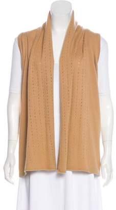 Neiman Marcus Cashmere Knit Vest