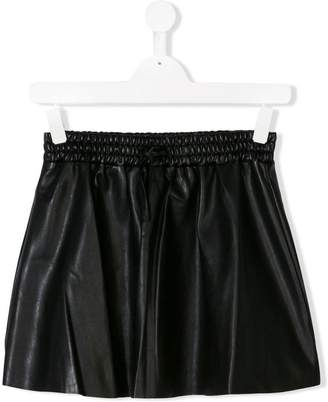 Zadig & Voltaire Kids TEEN faux-leather skirt