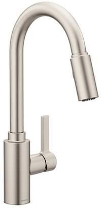 Moen Genta Single Handle Pulldown Kitchen Faucet with Power Clean?, Reflex?, Duralock?