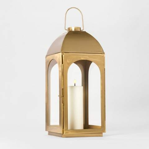 Brass Lantern Large