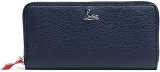 Christian Louboutin Panettone Dark Blue Leather Wallet