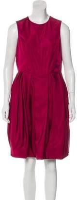 Jason Wu Silk Pleated Dress