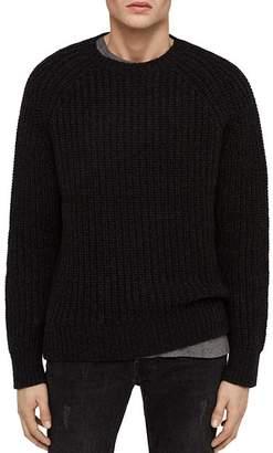 AllSaints Mast Chunky-Knit Crewneck Sweater