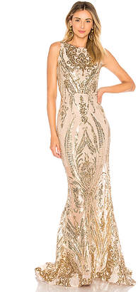 Bronx and Banco Ester Gold Gown