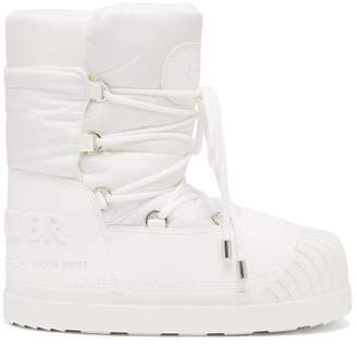 Moncler X Moon Boot Apres Ski Boots - Womens - White