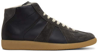 Maison Margiela Black Replica Sneakers