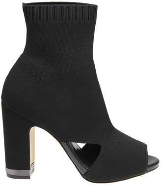 Michael Kors Valerie Ankle Boots Color Black