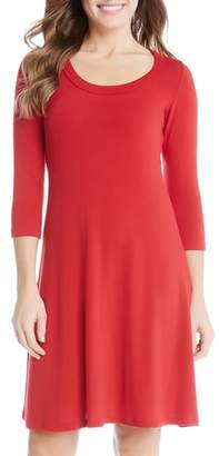 Karen Kane A-Line Sweater Dress