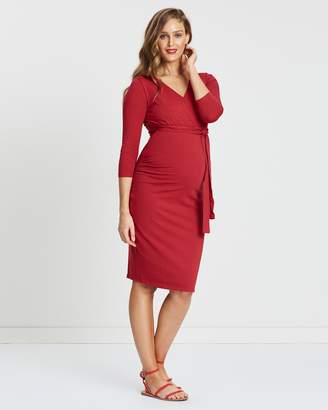 Ruch Wrap Dress