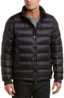Moncler Rodez Padded Down Wool Jacket