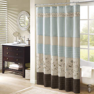 Madison Home USA Davenport Embroidered Shower Curtain