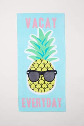 H&M Beach Towel - Turquoise