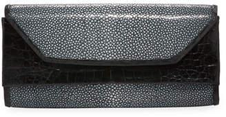 Nancy Gonzalez Crocodile Stingray Clutch Bag