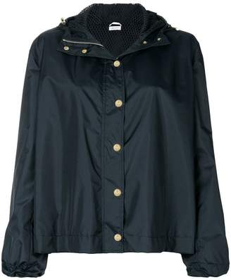 Thom Browne lace-up back boxy jacket