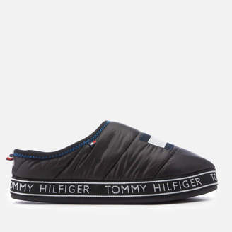 d3d841f016e4 Tommy Hilfiger Men s Flag Patch Down Slippers