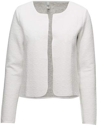 Off-White Soyaconcept Offwhite Short-Textured Cardigan