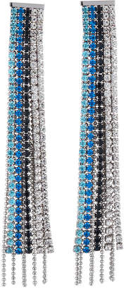 Fragments for Neiman Marcus Mixed Crystal Fringe Drop Earrings