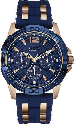 GUESS Oasis rose gold-plated watch w0366g4