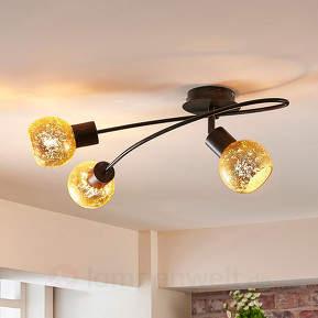 Julien - Deckenlampe im Landhausstil, dreiflammig