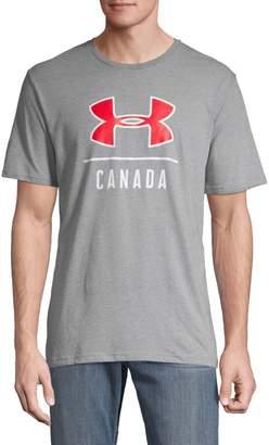 Under Armour Canada Graphic Big Logo Tee