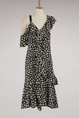 Proenza Schouler Silk asymetrical dress
