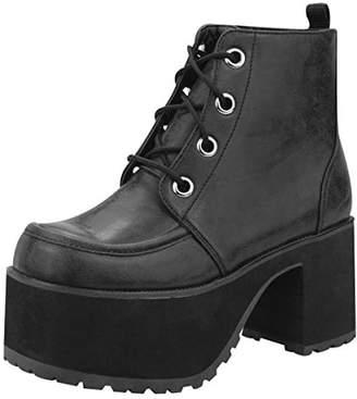 T.U.K. Original Footwear A8663L Distressed Ankle Nosebleed Boots