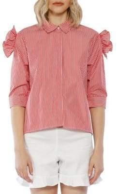 Walter Baker Yasmin Cotton Button-Down Shirt