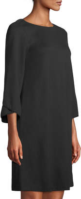 Lafayette 148 New York Fabiana Tulip-Sleeve A-line Dress