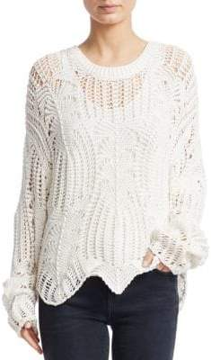 IRO Rhapsody Open Weave Sweater