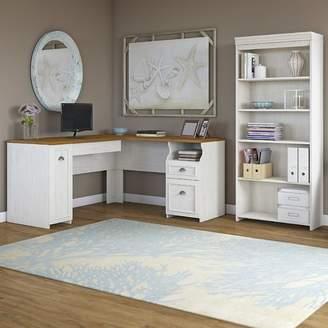 Beachcrest Home Oakridge 2 Piece L-Shaped Desk Office Suite