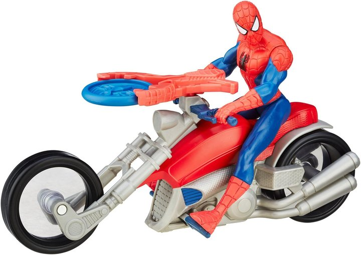 Spiderman Web City Speed Cycle - Spiderman