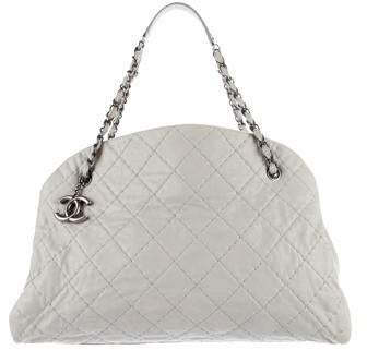 Chanel Just Mademoiselle Large Bowling Bag