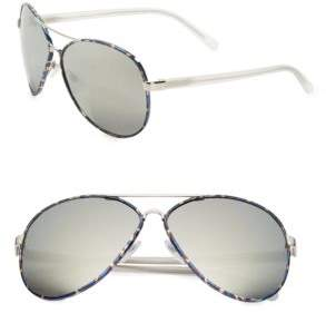 Diane von Furstenberg Sental 62MM Aviator Sunglasses