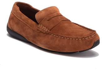 Cole Haan Branson Suede Penny Moc Driver