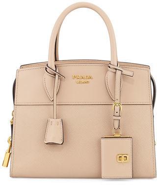 Prada Esplanade Small City Satchel Bag $2,280 thestylecure.com