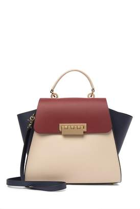 Zac Posen Eartha Iconic Top Handle Leather Satchel