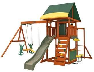 Kid Kraft Brookridge Wooden Swing Set