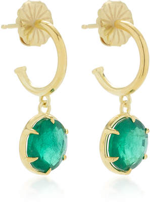 Ila Alastair 14K Gold And Emerald Earrings
