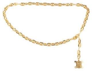 Celine Chain-Link Waist Belt