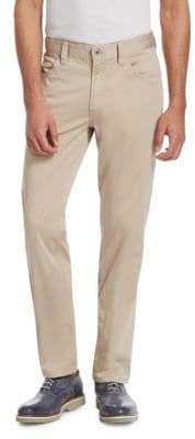 Emporio Armani Folded Oxford Pants