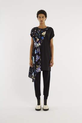 3.1 Phillip Lim Floral-Panel T-Shirt Dress