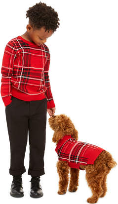 Charter Club Little Boys Plaid Family Sweater