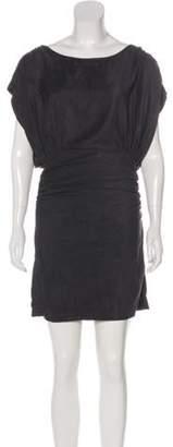 Elizabeth and James Faux Suede Mini Dress Faux Suede Mini Dress