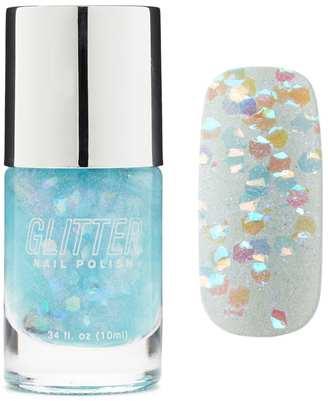 FOREVER 21+ Baby Blue Glitter Nail Polish